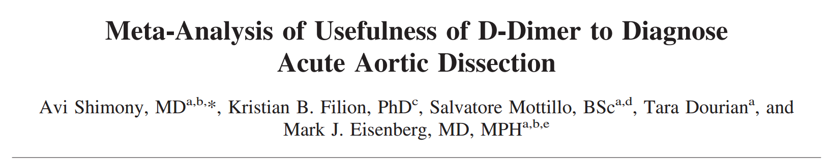 Shimony2014-ddimer_aorticDissection